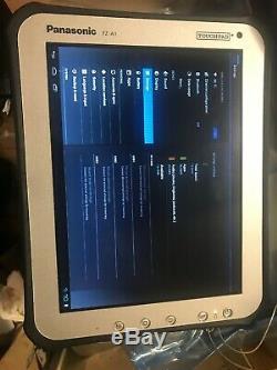 Panasonic Toughpad model FZ-A1 excellent condition FZ-A1BDAAA1M with original b