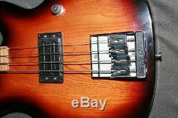 Peavey T-45 Bass, Sunburst, very clean, excellent condition, original case