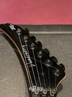Peavey Vandenberg 1988 Black Guitar Excellent Condition With Original Case