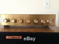 Pilot SP- 210 Tube Preamplifier, Re-capped, Excellent Working Condition