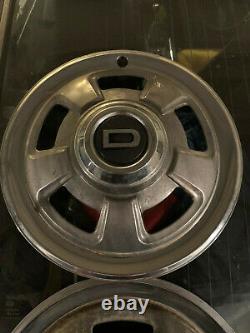 RARE Datsun Nissan Early 240Z D Hub caps Excellent Original Condition