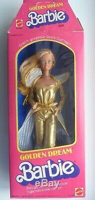 RARE Vintage Boxed 1980 Golden Dream Barbie Doll. Excellent Condition
