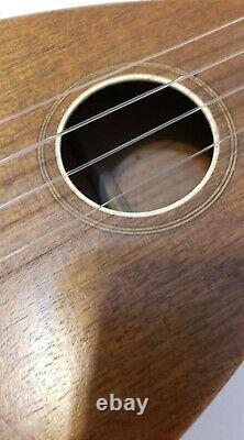 Rare FAVILLA 30'S TEARDROP MAHOGANY UKULELE Excellent Condition Original