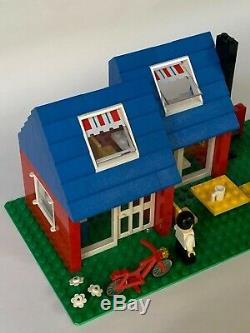 Rare Lego 6370 Weekend home, excellent condition, original instructions & box