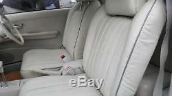 Re-leathered 1991 Original Nissan Figaro Front Seats X 2. Excellent Condition