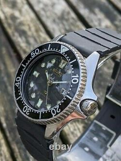 Seiko 2625-0010 Vintage Mini Quartz Diver Excellent Original Condition