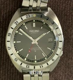 Seiko 6117 8009 Navigator In Excellent Near Mint All Original Condition