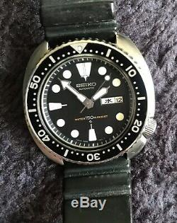 Seiko 6306 7001, Rare Diver From jan 1979 Excellent Condition On Original Strap
