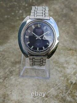 Seiko 7006-7030 Rare Purple Rally Dial Excellent Original Condition