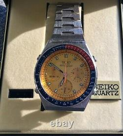Seiko 7A28 Pogue Rare In Excellent All Original Condition