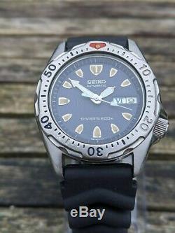 Seiko 7S26-0010 SKX001 Midsize Diver Excellent Original Condition