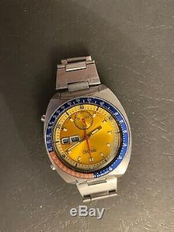 Seiko Pogue 6139-6002 1974 Excellent Original Condition Serviced