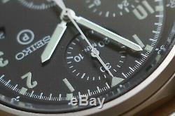 Seiko RAF Gen 2 7t27-7120 Pilot's chronograph Issued 1997, EXCELLENT CONDITION
