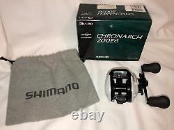 Shimano Chronarch 200E6 Excellent Condition Comes With Original Box And Manual