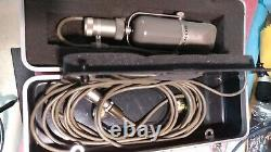 Sony Microphone C37P Excellent Condition Original Box and Cable