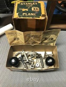 Stanley No 71 Router Plane Excellent Condition Complete Original Box