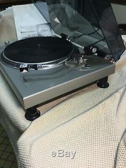 Technics Turntables Sl1200 #3 Rare The Original Mk1 In Excellent Condition