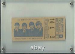 The Beatles Shea Stadium Concert Ticket August 23 1966 Excellent Condition
