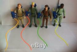 The Real Ghostbusters Complete Uk Original Set Kenner Excellent Condition