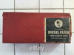 Trix Twin 20/58 3 Rail AC Diesel Flyer 2 Car DMU excellent original condition
