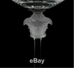 VERSACE MEDUSA GLASS BRANDY COGNAC BEER WINE Excellent condition