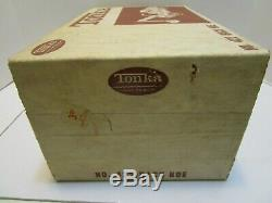 VINTAGE TONKA No. 422 BACK HOE WithBOX EXCELLENT ORIGINAL CONDITION