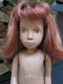 Vintage 16 Sasha Doll Girl Red Haired Brown Eyes Original Excellent Condition