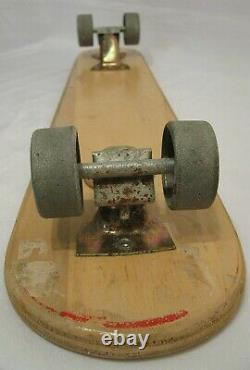 Vintage 1960's ZIPEES Sidewalk Surfboard Original Excellent Condition Skateboard