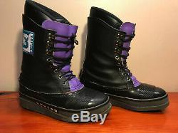 Vintage BURTON snowboard boots. EXCELLENT condition Purple retro ORIGINAL