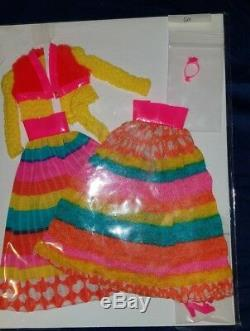 Vintage Barbie Mod Flying Colors VHTF Excellent Condition #3492 Two Variations