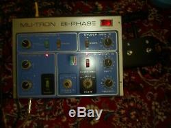 Vintage Mu-Tron Bi-Phase Original EXCELLENT CONDITION recently Serviced