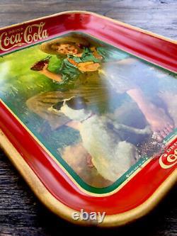 Vintage, Original, 1931 Coca-Cola Serving Tray, Excellent condition Shiny