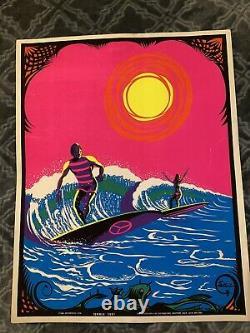 Vintage Original Black Light Poster Excelent Condition