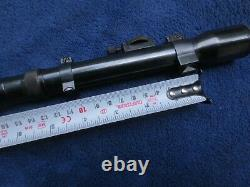 Vintage Original German Gerard Rifle Scope Excellent Condition With Mount