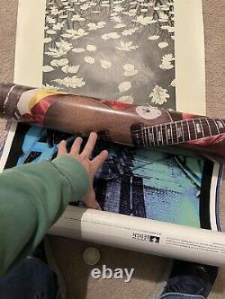 Vintage Soundgarden Superunknown BlackLight Poster 1994 Excellent Condition