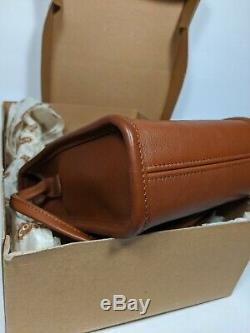 Vtg Coach British Tan Scooter 9893 with Original box! Excellent condition