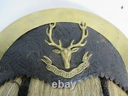 WW1 CEF Seaforth Highlanders Horse Hair Sporn. Excellent original condition