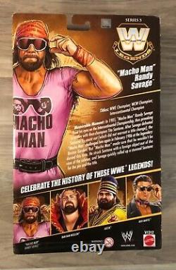 WWE Elite Legends Series 5 Macho Man Randy Savage NEW! MOC! EXCELLENT Condition