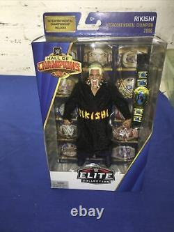 WWE Elite Rikishi Hall Of Champions NEW! MOC! RARE! Excellent Condition