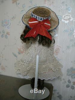 18 Antique Originale Française Bru Jne. Taille 6 Doll, Excellent Etat