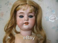 18antique Doll Allemand Circa 1900 Excellent État
