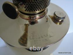 1920's Original Famos 120 Cp Qualité Lampe À Huile En Laiton Excellent État
