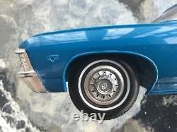 1967 Chevy 427 Impala Ss Original Dealer Promo Model Car Excellent État