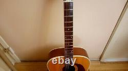1972 Harmony Sovereign Guitare Acoustique Dans Le Boîtier Original Excellent État