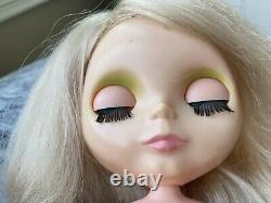 1972 Vintage Original Doll Platinum Blonde Blythe-excellents Yeux Condition