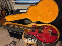 1973 Ea250 Kalazamoo D'origine Epiphone, Michigan Withcase Excellent État