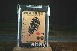 1979 Wayne Gretzky Rookie Rc Mini Carte Oilers Sealed Excellent État