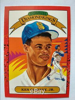 1990 Donruss Ken Griffey Jr # 4 Kings Baseball Card Diamant Excellent Etat