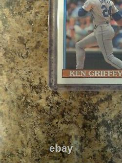 1991 Topps Ken Griffey Seattle Mariners #392 Excellent État! Extrêmement Rare