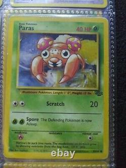 1995 Paras Pokemon Card Ultra Rare Excellent Condition Original Psa 9